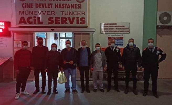 AK Gençler sağlık çalışanlarını ziyaret etti