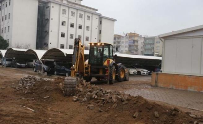 Başkan Atay, Atatürk Devlet Hastanesi'nin talebini yerine getirdi