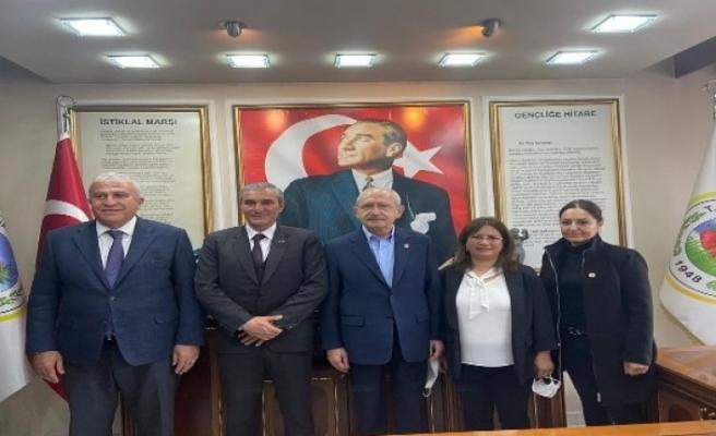 Başkan Atay, Kılıçdaroğlu ile görüştü