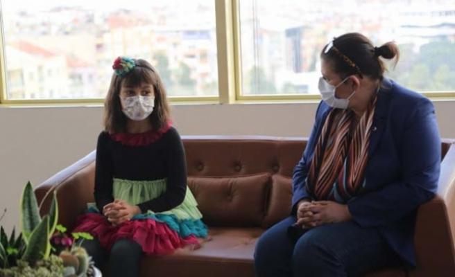 Başkan Çerçioğlu, piyano yeteneği Sagut'u ağırladı