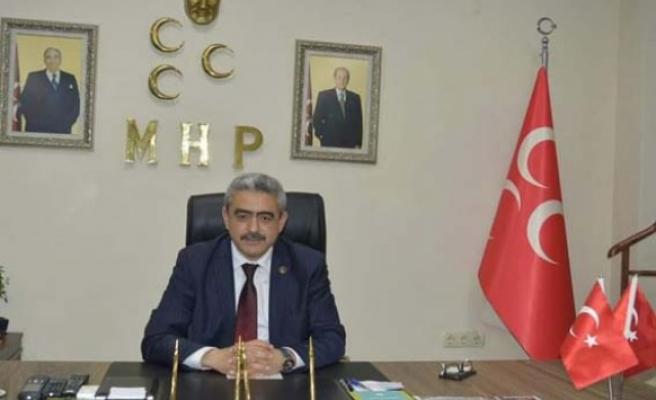 MHP İl Başkanı Alıcık'tan 'Miraç Kandili' mesajı