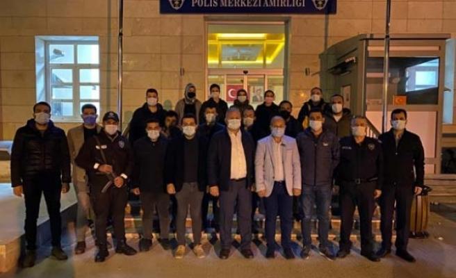 AK Parti Çine Teşkilatı, Polis Haftasını kutladı