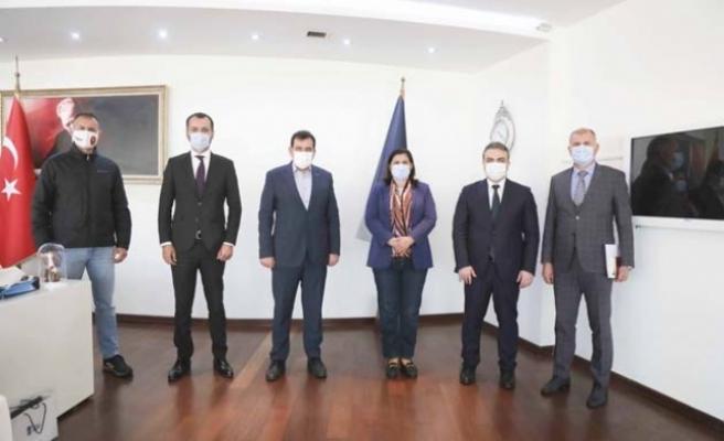 Ankara Büyükşehir Belediyesi'nden Aydın'a Ziyaret
