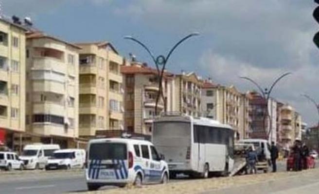 Otobüs hırsızı Çine Polisinden kaçamadı