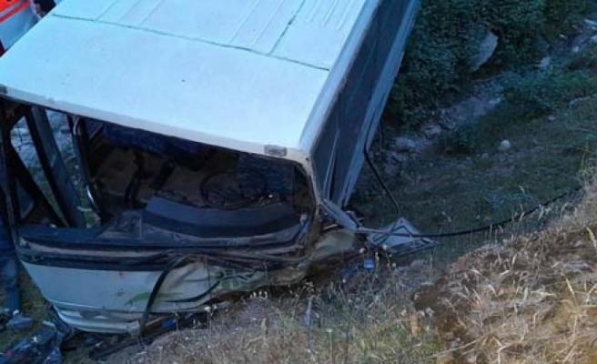 Karpuzlu'da Kaza; 14 Yaralı