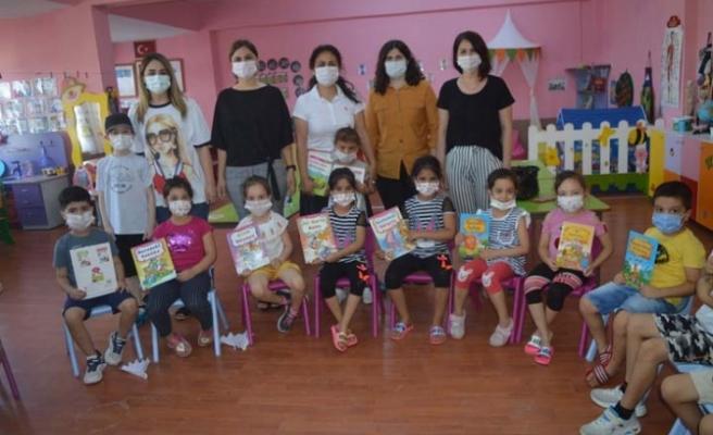 Çine Kütüphanesi minik öğrencilerle buluştu