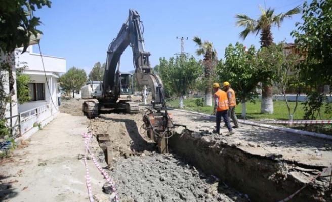 ASKİ'den Davutlar-Güzelçamlı Kanalizasyon Hattı'na Dev Yatırım