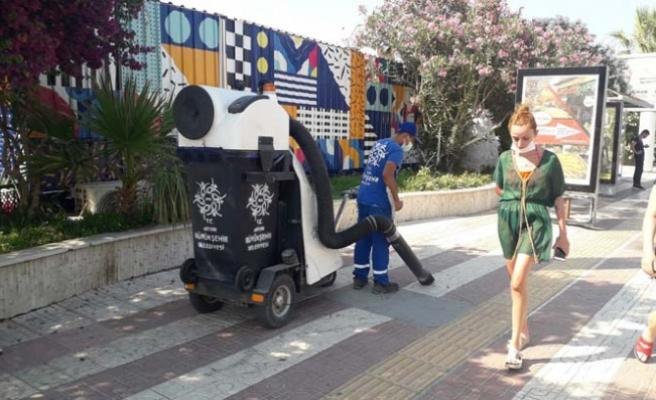 Aydın Büyükşehir Belediyesi'nin bayram mesaisi yoğun oldu