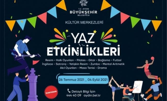 Aydın Büyükşehir Belediyesi'nin Yaz Etkinlikleri Başlıyor