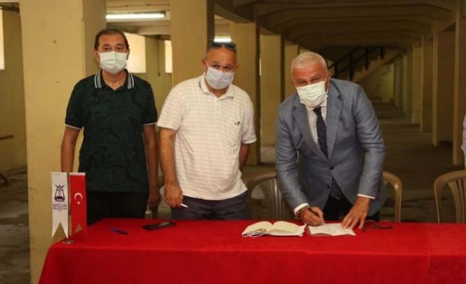 Başkan Atay 90 Yıllık Tarihi Binayı Efeler Halkına Armağan Etti