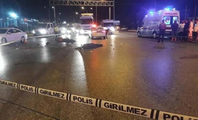 Çine'de kamyonetle motosiklet çarpıştı: 1 ölü, 1 yaralı