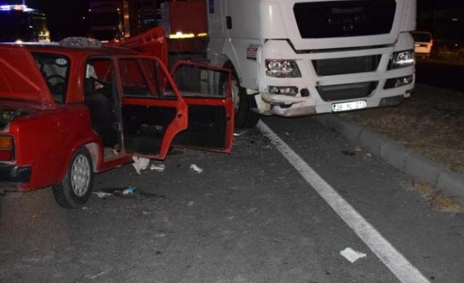 Çine'de; ters yönde ilerleyen araç faciaya sebep oldu