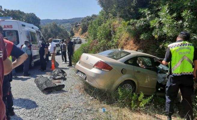 Koçarlı'da trafik kazası: 2 ölü