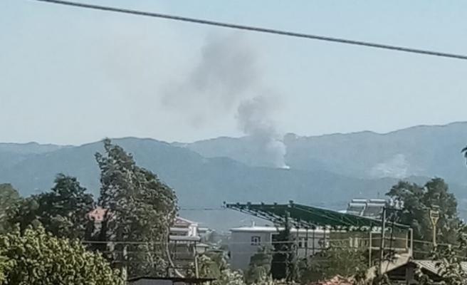 Akçaova'da yine dumanlar yükseliyor