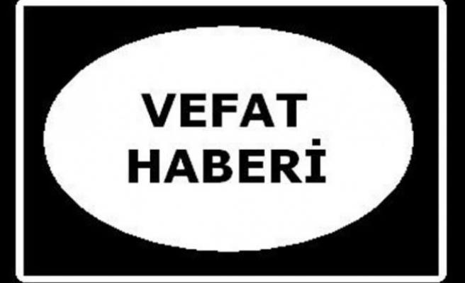Ali Özdemir vefat etti