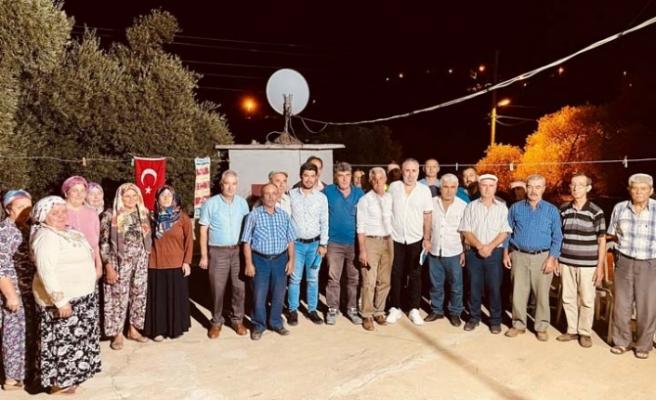 Aydın Büyükşehir Belediyesi Mahalle Ziyaretlerine Devam Ediyor