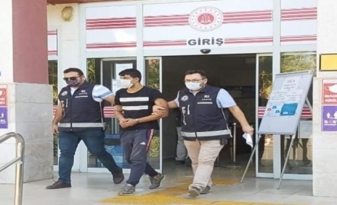 Beş ayrı evden hırsızlık yapan şahıs tutuklandı