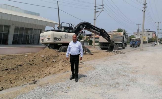 BŞB, Çine'de sıcak asfalt çalışmalarına başladı
