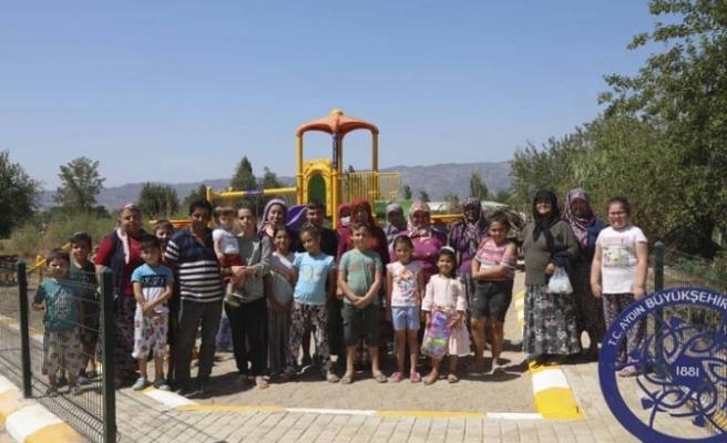 Çocuklar İstedi Aydın Büyükşehir Belediyesi Yaptı