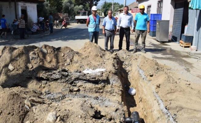 Kahraman Mahallesi'nde içme su boruları yenileniyor