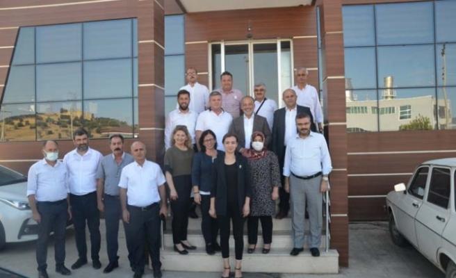 Milletvekili Yavuz Rodos Süt'ü ziyaret etti