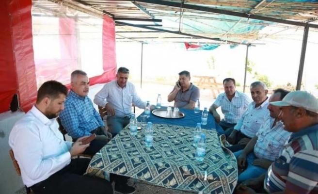 Savaş'tan, Tatarmemişler'deki 2 projeye destek