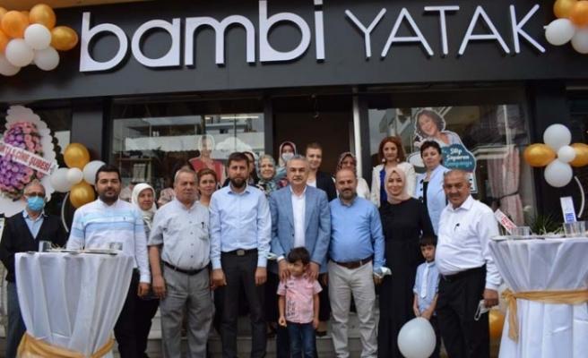 Bambi Yatak Mağazası Törenle Açıldı