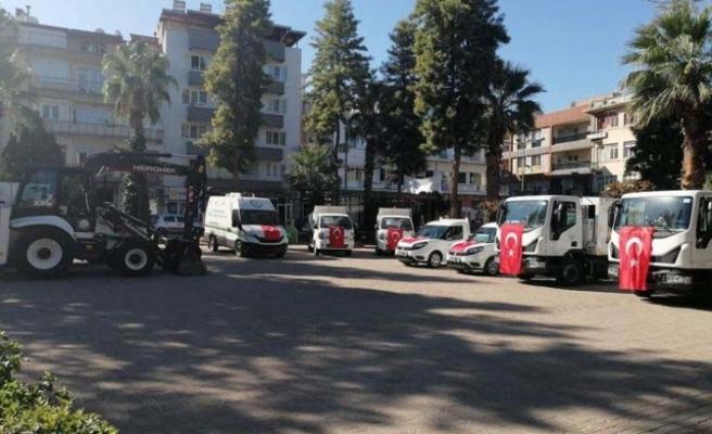 Çine Belediyesi araç filosunu güçlendirdi