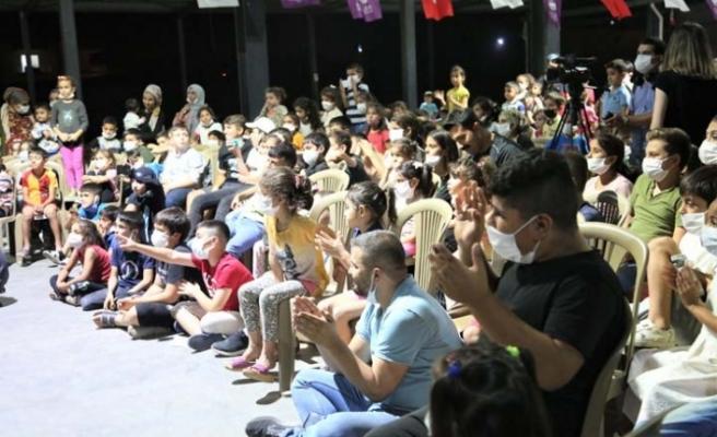 Çocuklar Kurtuluşun Coşkusunu Tiyatroyla Yaşadı