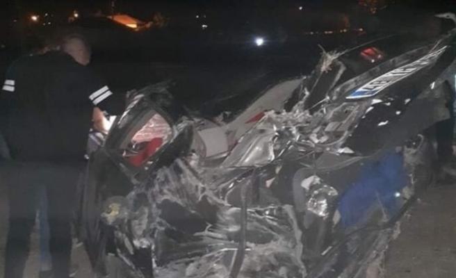 Çine'de jandarma karakol komutanı Vural Şen kazada hayatını kaybetti