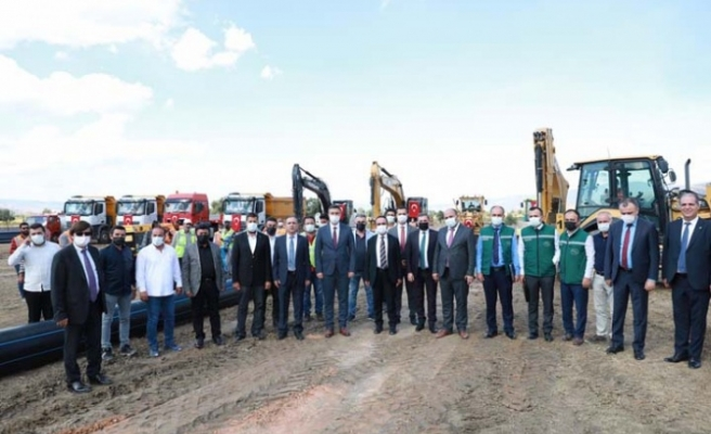 Tarım ve Orman Bakan Yardımcısı Özkaldı, Çine'deki yatırımları yerinde inceledi