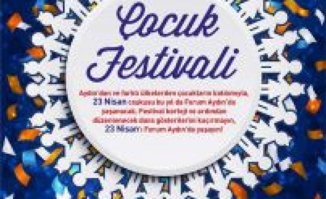 23 Nisan coşkusu Forum Aydın'da yaşanır!
