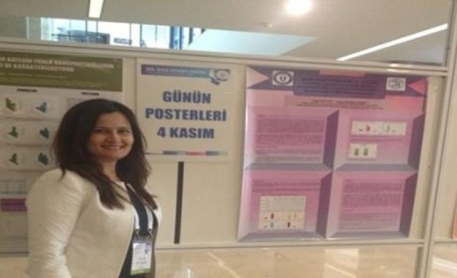 ADÜ Öğretim Üyesi Ulusal Kongrede en iyi Poster Ödülü aldı