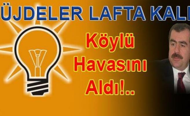 AK Parti'den Çine'ye KARA Haber!