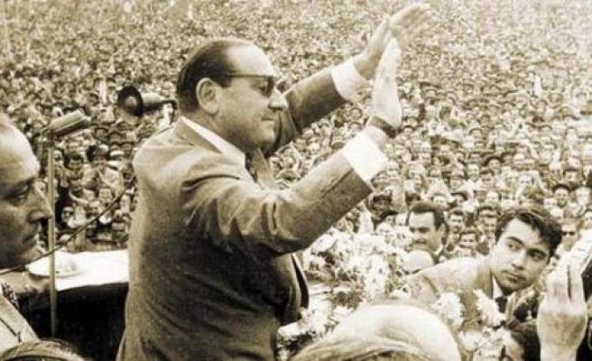 AK Parti'li Erürker, Adnan Menderes'i Andı