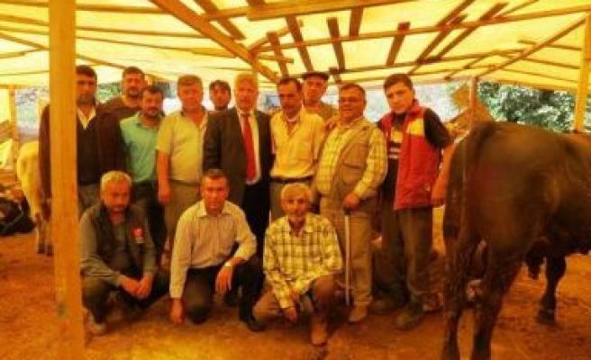 Atıgan, İzmir'de kurban pazarlarını ziyaret etti