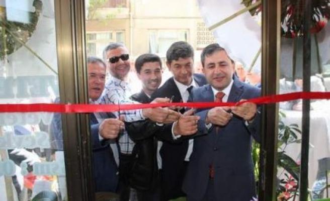 Atıgan Veterinerlik Bürosu Törenle Açıldı