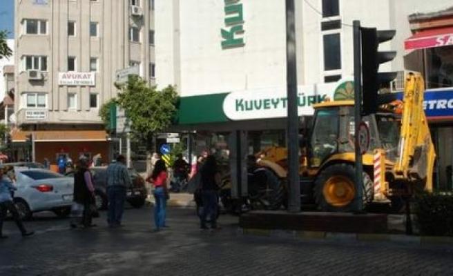 Aydın'da Trafik Alt Üst