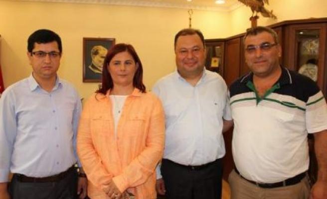 Başkan Çerçioğlu'na, Muhtarlar teşekkür etti