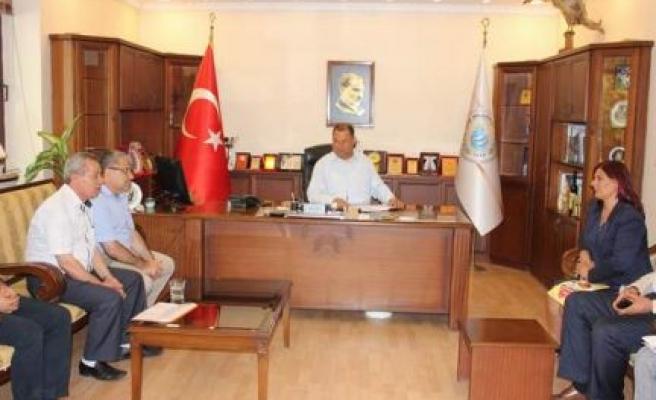 Başkan Çerçioğlu'ndan esnafa destek