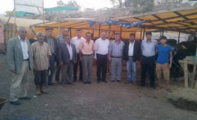 Başkan Dinçer,İzmir'de besicileri ziyaret