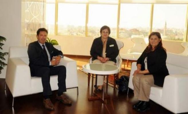 Başkonsolos Tsakiris'ten Başkan Çerçioğlu'na Ziyaret