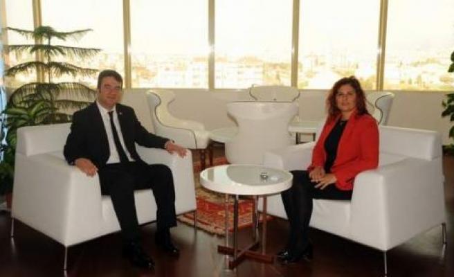 Baydar'dan Başkan Çerçioğlu'na Ziyaret