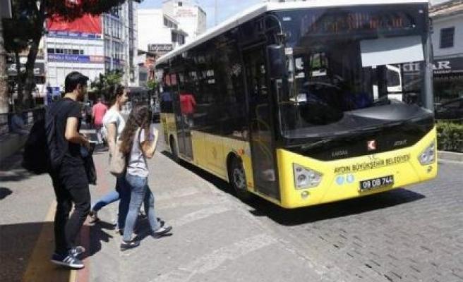 Bayram Boyunca Sarı Otobüsler Ücretsiz