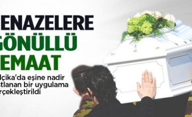 Belçika'da cenazelere 'gönüllü cemaat'
