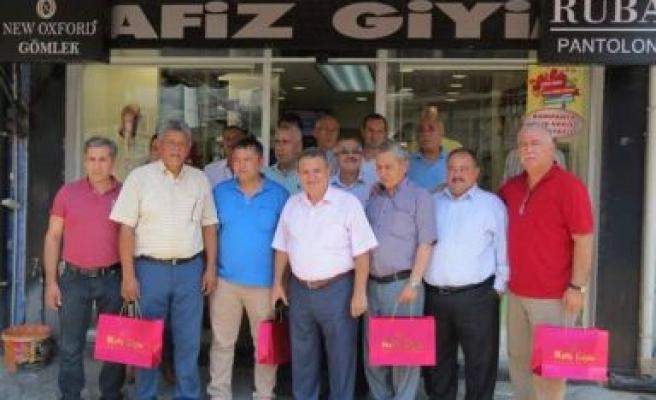 Bir destekte Birlik Başkanı Çetindoğan'dan