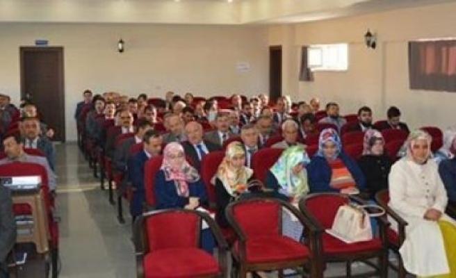 Camiler Ve Din Görevlileri Haftası Konulu Konferans