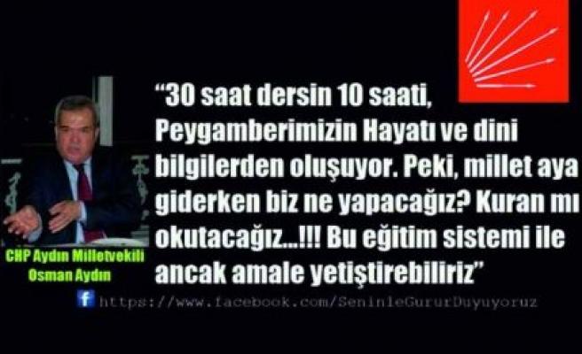 CHP'li Milletvekilinin sözleri ortalığı karıştırdı