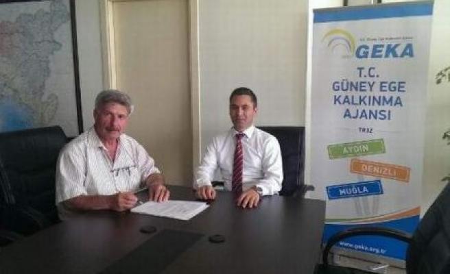Çine Tarım İlçe Müdürlüğü ve GEKA proje imzaladı