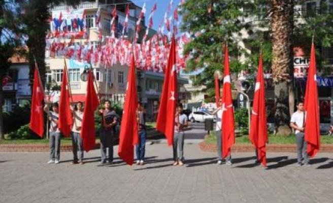 Çine'de 19 Mayıs Kutlandı